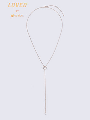 Gina Tricot halsband Loved Rose Gold Y Neck Necklace