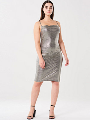 Gina Tricot My metallic dress