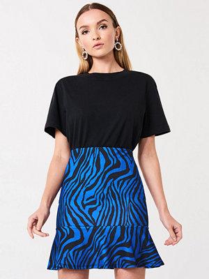 Gina Tricot Zebra frill skirt
