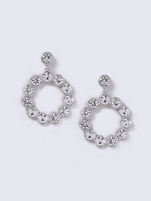 Gina Tricot örhängen Crystal Circle Drop Earrings