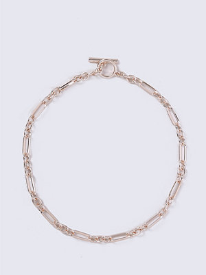 Chokers - Gina Tricot Rose Gold T-Bar Choker