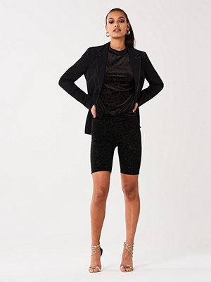 Shorts & kortbyxor - Gina Tricot Sibi glitter biker pants