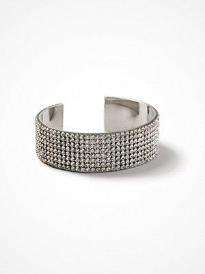 Gina Tricot armband Rhodium Rhinestone Cuff