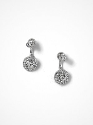 Gina Tricot örhängen Rhodium Rhinestone Stud Earrings