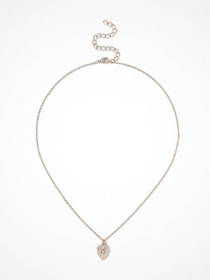 Gina Tricot halsband Gold Look Heart Necklace