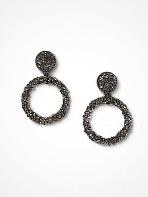 Gina Tricot örhängen Hematite Drop Earrings