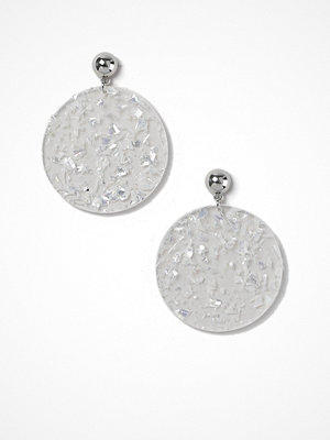 Gina Tricot örhängen Glitter Disc Drop Earrings