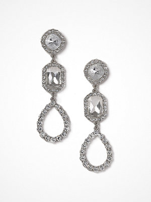 Gina Tricot örhängen Rhinestone Statement Drop Earrings