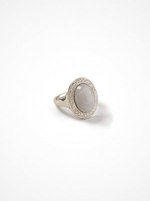 Gina Tricot Gold Look Marble Ring