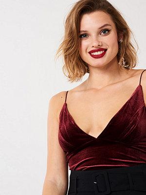 Gina Tricot May velvet linne