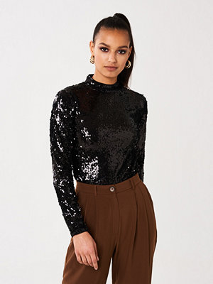 Gina Tricot Belle sequins top