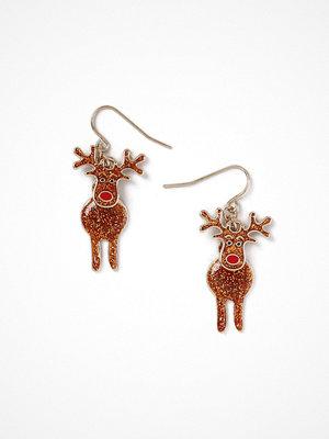 Gina Tricot örhängen Brown Reindeer Drop Earrings