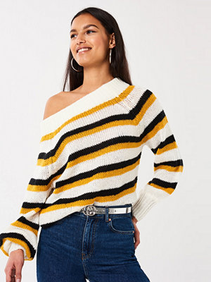Gina Tricot Elora knitted offshoulder sweater