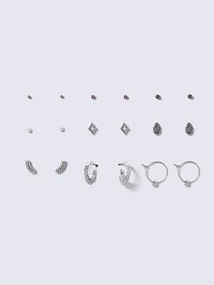 Gina Tricot örhängen Punk Earring Multipack