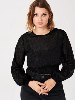 Gina Tricot Paris smock blouse