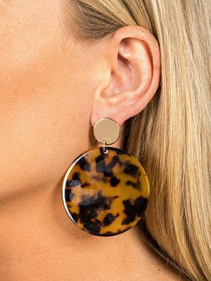 Gina Tricot örhängen Tortiousshell Stud Earrings