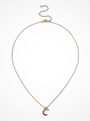 Gina Tricot halsband Gold Look Moon Necklace