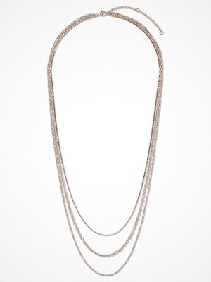 Gina Tricot halsband Rose Gold Layered Necklace