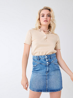 Gina Tricot Vendela yoke denim skirt