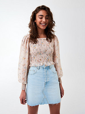 Gina Tricot Vintage short denim skirt