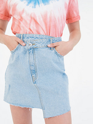 Gina Tricot Minna wrap denim skirt