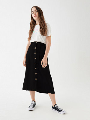 Kjolar - Gina Tricot Ylva button skirt