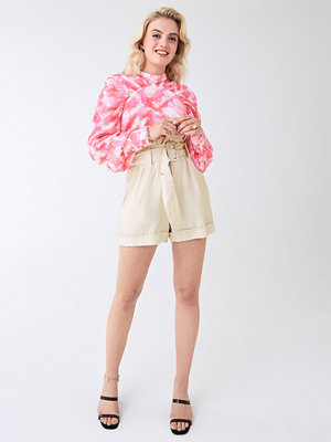 Shorts & kortbyxor - Gina Tricot Eddie paperbag waist shorts