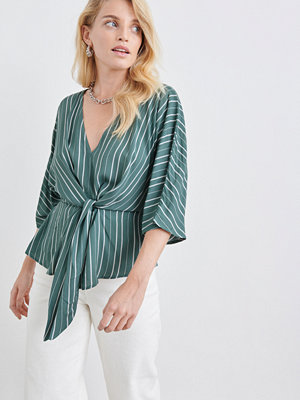 Gina Tricot Carla tie front top