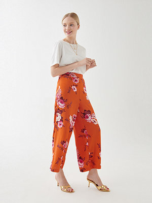 Gina Tricot mönstrade byxor Elise culotte trousers