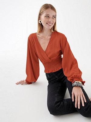 Gina Tricot Jane smock top