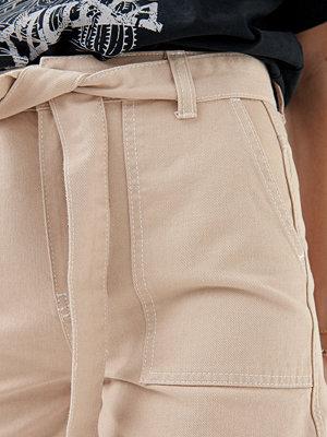 Gina Tricot Edda utility denim shorts