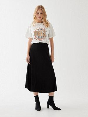 Gina Tricot Felicia rib skirt