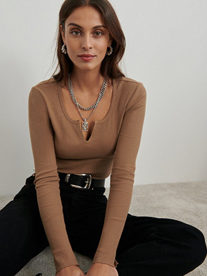Gina Tricot Vera rib top