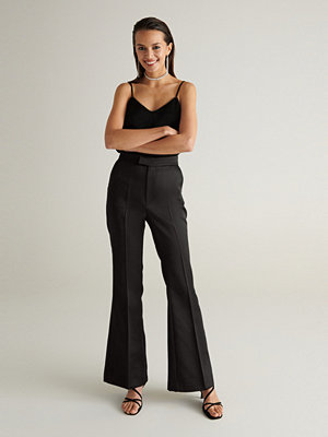 Gina Tricot byxor Sussi satin trousers