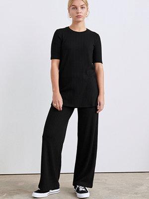 Gina Tricot byxor Sanne rib trousers