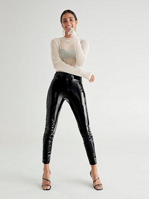 Leggings & tights - Gina Tricot Jacki patent leggings
