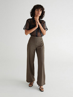 Gina Tricot omönstrade byxor Madelyn trousers
