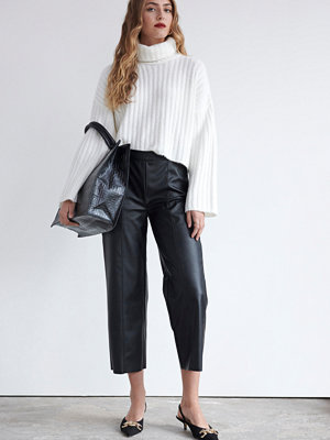 Gina Tricot svarta byxor Holly culotte trousers