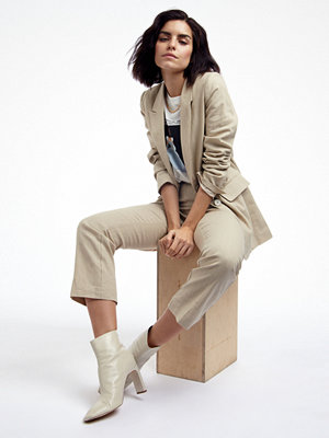 Gina Tricot omönstrade byxor Lisa linen trousers
