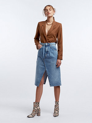 Gina Tricot Re: My pleat jeans skirt