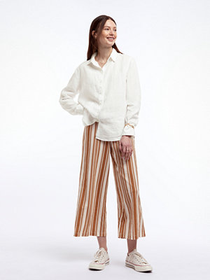 Gina Tricot randiga byxor Janike culotte trousers