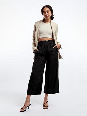 Gina Tricot svarta byxor Disa culotte trousers