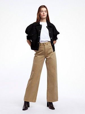 Gina Tricot omönstrade byxor Wide leg jeans