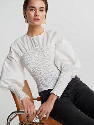 Gina Tricot Magdalena smock blouse