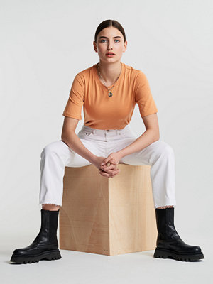 Jeans - Gina Tricot Ylva kick flare jeans