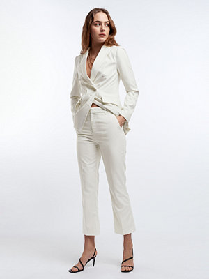 Gina Tricot vita byxor Lisa trousers