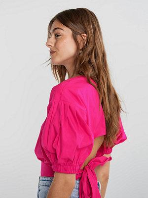 Gina Tricot Julia open back blouse