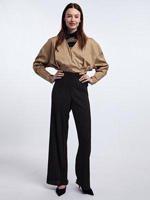 Gina Tricot svarta byxor Emma trousers