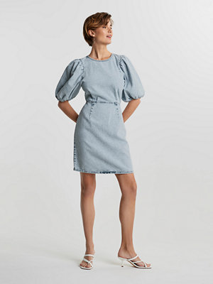 Gina Tricot Puff sleeve denim dress