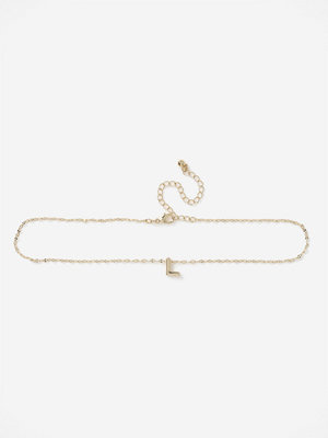 Gina Tricot halsband L Initial Choker